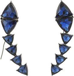 Steve Madden Triangle Threader Earrings