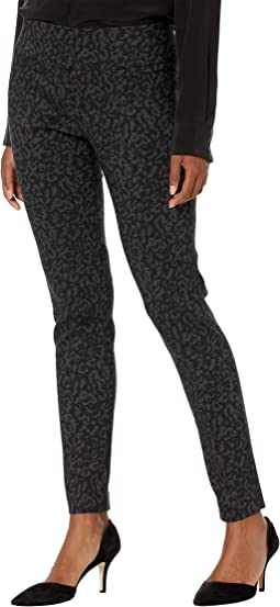 Protozoa Pull-On Ankle Pants with Back Slit Detail