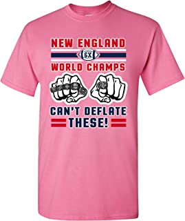 World Champs Can't Deflate These Football Sports DT Adult T-Shirt Tee