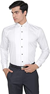 MANQ Men's Cotton Shirt - Regular/Formal, Slim Fit and Long Sleeves
