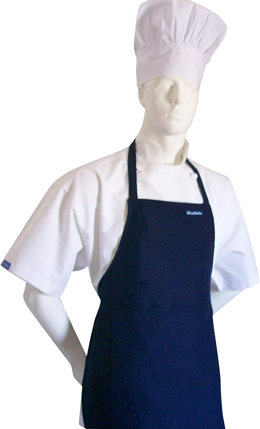 Midnight Black Color Apron Limited time cheap sale CHEFSKIN Teens for From Opening large release sale