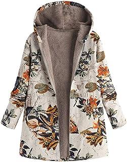Womens Winter Lapel Fleece Coat Fluffy Jacket Pockets Parka Changeshopping
