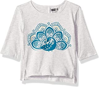 Baby Girls 3/4 Sleeve Graphic Tee