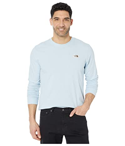 The North Face Long Sleeve Recycled Materials T-Shirt (Faded Blue Heather) Men