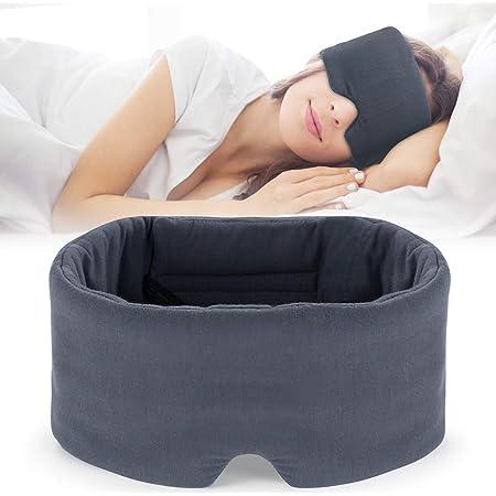 Mavogel 2019 New Sleep Eye Mask - Skin Friendly Modal Material & Light Blocking Sleeping Mask for Home/Flight/Shift Work, 100% Handmade, Fully Adjustable Strap, Full Eye Covers for Women/Men Sleeping