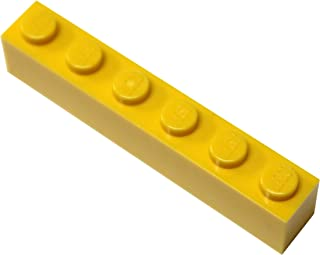 LEGO Parts and Pieces: 1x6 Bulk Bricks c. 20 Pieces Yellow unknown