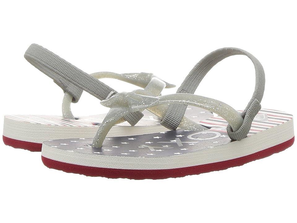 Roxy Kids Fifi II (Toddler) (Red/White/Blue) Girls Shoes