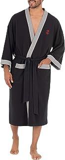 Men's Waffle Knit Kimono Robe