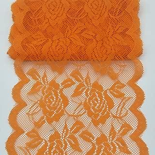 Best orange lace fabric Reviews