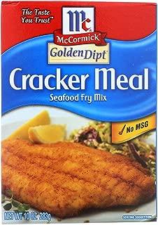 GOLDEN DIPT, Breading, Cracker Meal, Pack of 8, Size 10 OZ