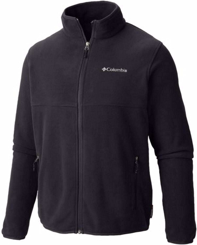 Columbia Mens Big & Tall Granite Mountain Fleece Jacket (1X, Black)