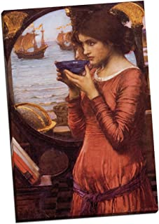 Panther Print John William Waterhouse Destiny Canvas Print Picture Wall Art Large 30X20 Inches