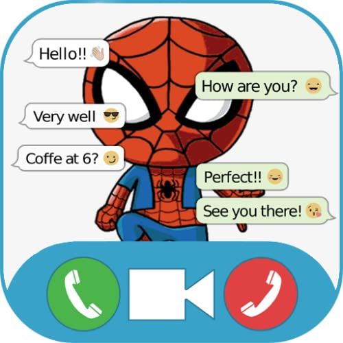 Super Hero Video Call Chat Prank