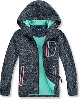 Boys Rain Jacket – Lightweight Waterproof Jacket for Boys with Hood,Best for Rain School Day,Hiking and Camping