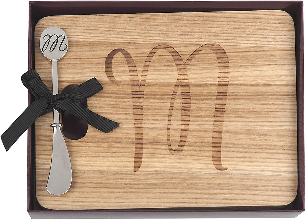 Easy-to-use Monogram Natural Hardwood Indianapolis Mall Fraxinus Cheese Foodsafe Mandshurica B