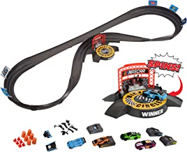 Far Out Toys NASCAR Crash Circuit Ultimate Road Course Bundle with Huge Race Track,..