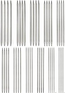 棒針 44本セット 11サイズ 長さ25cm ステンレス 編み棒 1.5mmから5mmまで 編み針 手あみ針 編み物道具 手芸