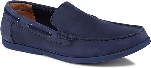 Clarks Morven Sun, Chaussures Chaussures de Ville à Lacets pour Homme Bleu Bleu  bonne réputation