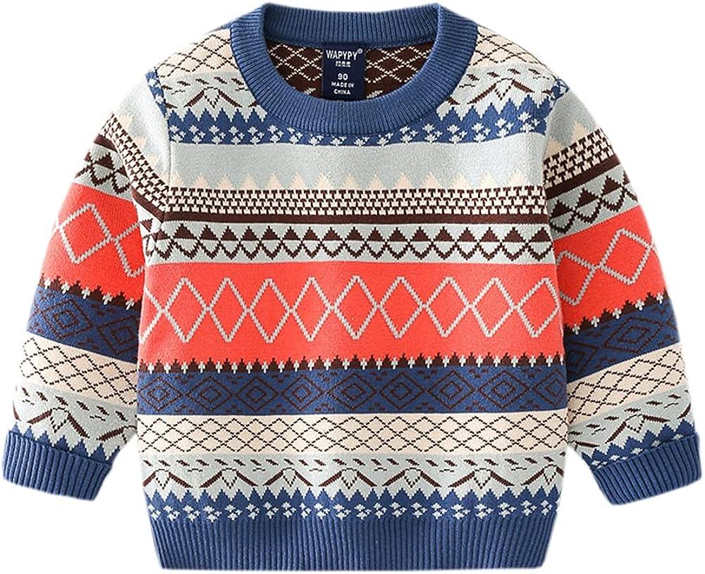 ARTMINE Baby Boys Girls Knit Sweater Unisex Cotton Cartoon Animal Sweaters