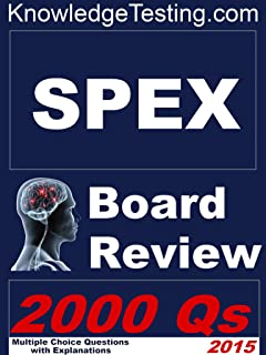SPEX Board Review (Board Review for SPEX Book 1)