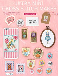 Ultra Mini Cross Stitch: Over 100 Small Scale Cross Stitch Motifs