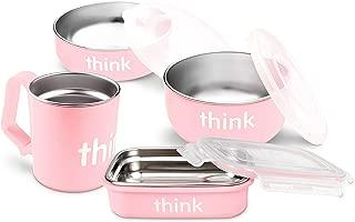 Best thinkbaby feeding set pink Reviews