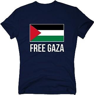 shirtdepartment Palestine T-Shirt Free Gaza Palästina