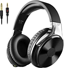 OneOdio Stereo Wired Over Ear Headphones - Studio Hi-Fi Precision Headphones, 50mm Drivers, Adapter Free Closed-Back Headphones for Electric Drum Keyboard Guitar Amp PC iPad