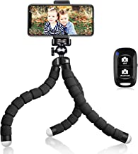 UBeesize Tripod S, Premium Flexible Tripod with Wireless Remote, Compatible with iPhone/Android, Mini Tripod Stand for Cam...
