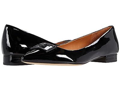 Tory Burch 20 mm Gigi Pointy Toe Flat (Perfect Black 1) Women