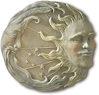 Gifts & Decor Celestial Sun Moon Star Wall Plaque
