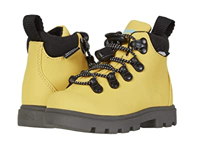 Native Kids Shoes Fitzsimmons Treklite (Toddler/Little Kid) (Alpine Yellow/Dublin Grey) Kid