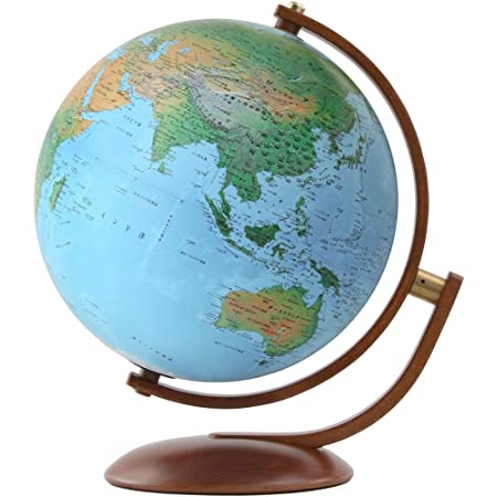 ORBYS 地球儀 スペース12型 球径30cm 地勢図 43310