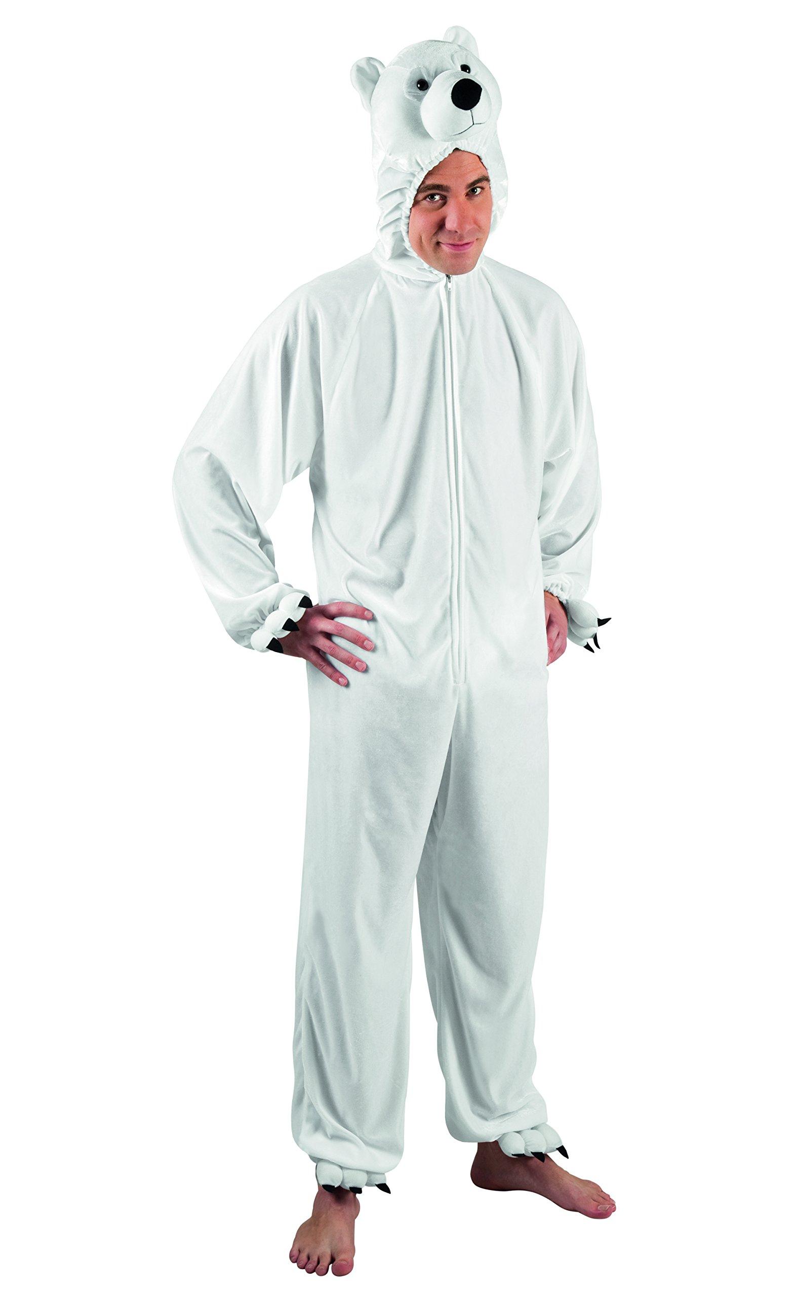 Boland - Disfraz de oso polar de peluche para adultos: Amazon.es ...