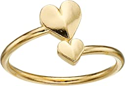 Alex and Ani Romance Heart Wrap Ring
