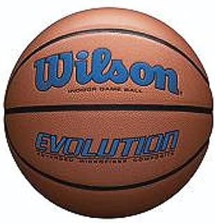 Wilson WTB0595XB0704 Evolution Size Game Basketball-Royal, Brown, Official