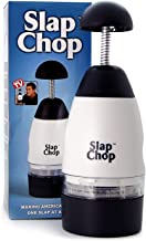 Original Slap Chop Multi-purpose Slicer with Stainless Steel Blades Vegetable Chopper Gadget Mini Chopper for Salads Kitchen Accessory Cutter Crushing Mashing Kitchen Tool