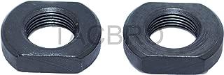 US-Deals 1/2-28 Black Steel Muzzle Device Jam Nut 223/5.56 2PCS Pack