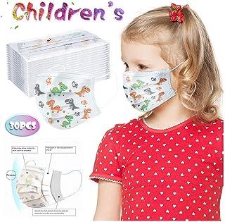10/20/30/40/50/100 Pcs Children's Face Màsc, Comfortable Non-Elastic Ear Loops, Face Màsc Bandanas for Kids (30 Pcs)