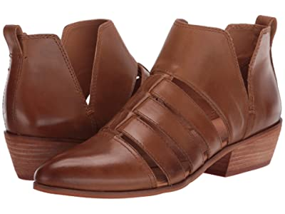 FRYE AND CO. Rubie Cutout Bootie (Tobacco Soft Oily Leather) Women
