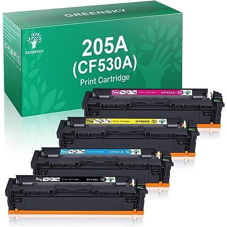 Greensky Compatible Toner Cartridge Replacement For Hp 205a Cf530a Cf531a Cf532a Cf533a For Hp Color Laserjet