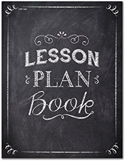 Creative Teaching Press Chalk It Up! Lesson Plan Book, Black/White (Teaching Material Organizer) (1350)