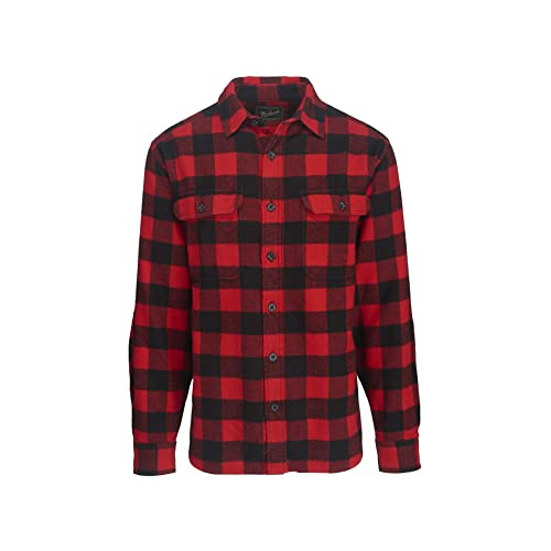 red flannel shirt mens