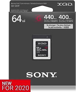 QDG64F-2 - Tarjeta de Memoria Flash XQD (64 GB, 5 GB, Serie G-2020 de Alta Velocidad (Lectura 440 MB/s y Escritura 400 MB/s)