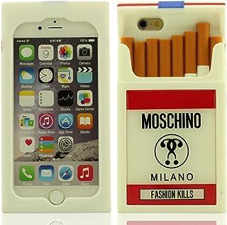 4f8c5e97459 Desconocido Creativo Diseño 3D Cajas de Cigarrillos Forma Anti Choque  Silicona Carcasa Protectora Case Funda para