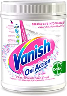 Vanish Laundry Stain Remover Oxi Action Powder for Whites, 450g
