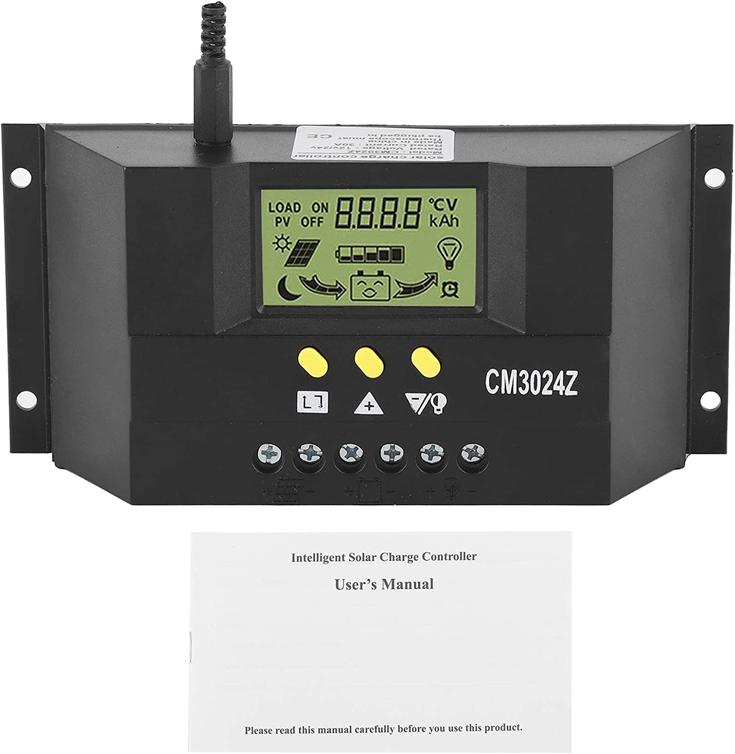 30A Solar Brand new Charge Controller 12V 24V D Multifunction