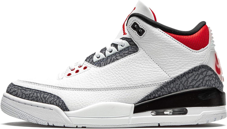 Air Jordan 3 Retro Blanc Cz6431-100 : Amazon.fr: Chaussures et Sacs