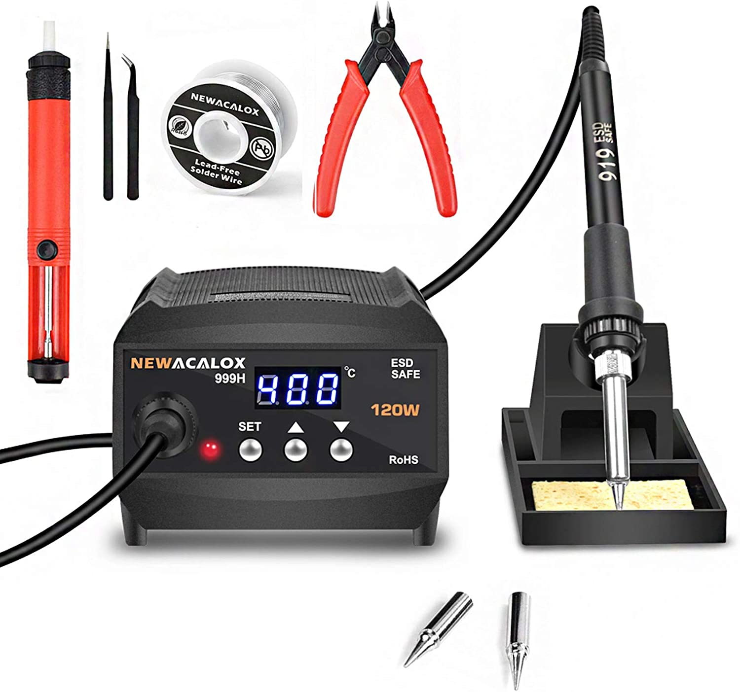 120W Digital Max 51% Popular products OFF Soldering Station with Pre Equivalent 200-599℃