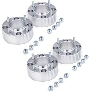 Orion Motor Tech 4x110 Wheel Spacers 2 inches with 10x1.25 Studs,  Compatible with Polaris Kawasaki Yamaha Rhino Grizzly Suzuki, 4pcs